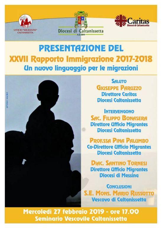 Presentazione-XXVII-Rapporto-Immigrazione-Caritas-Migrantes